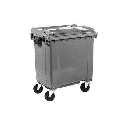Afvalbakken en afvalcontainers