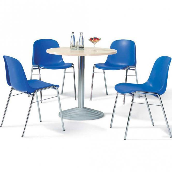 Kunststof stapelstoelen